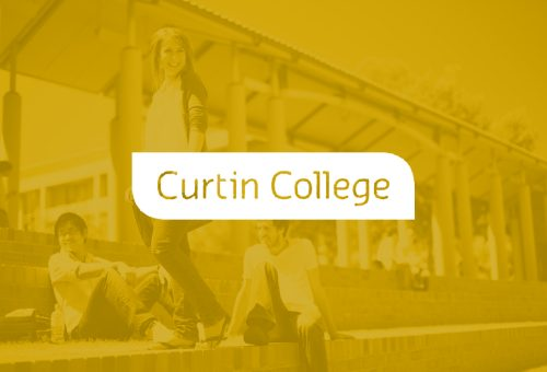Curtin College - logo