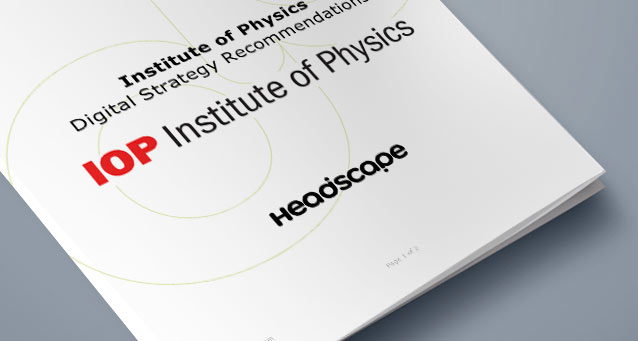 Institute of Physics Digital Strategy Document