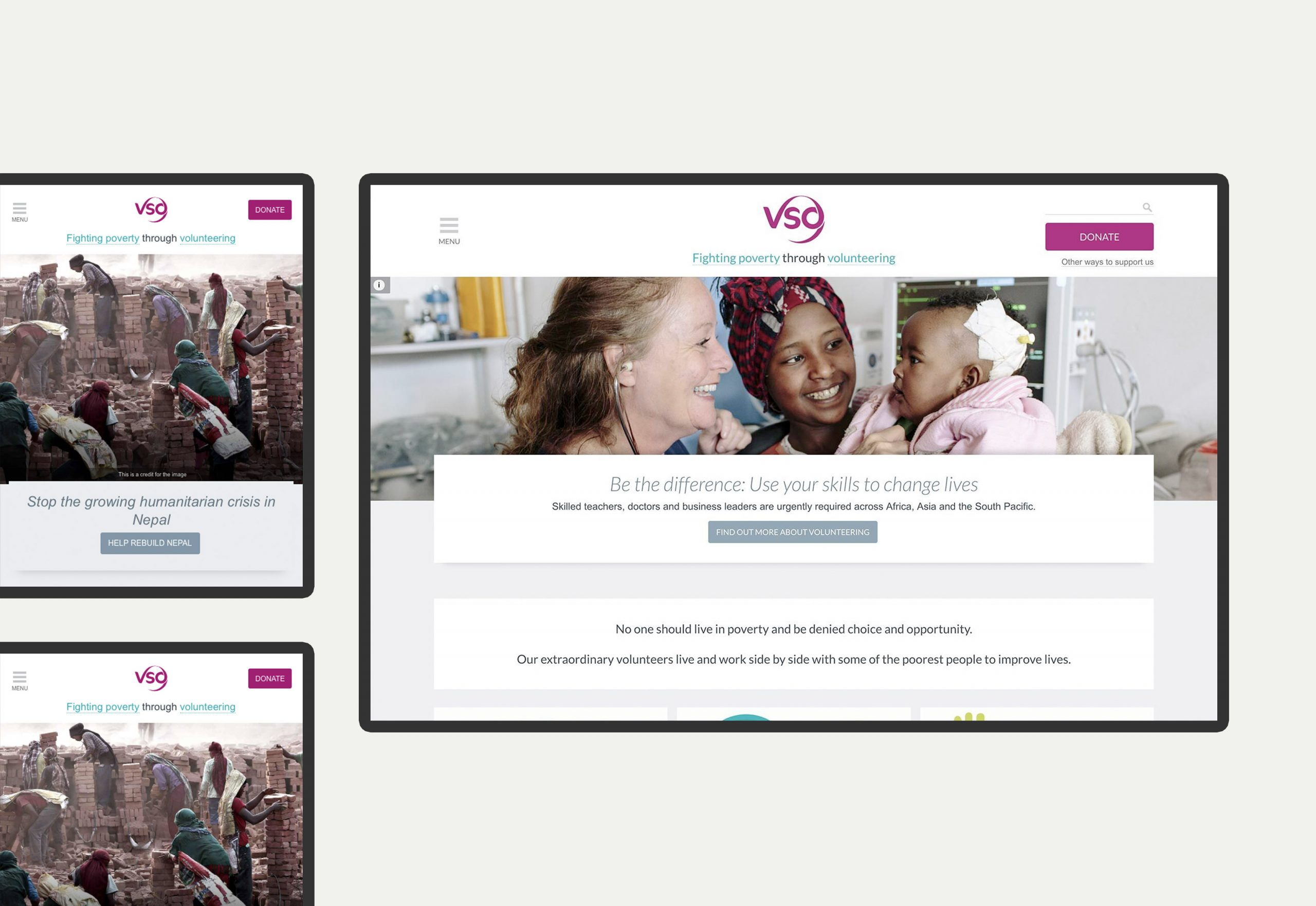 VSO - website design